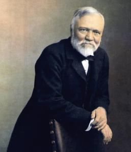 Andrew Carnegie: wise old bird.